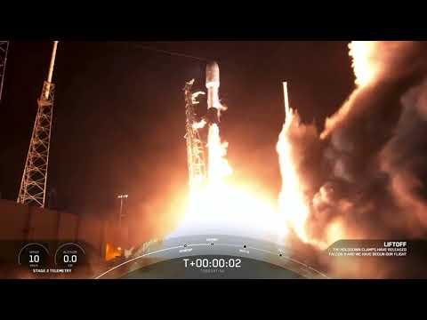 Blastoff! SpaceX first launch of 2021 is a Turkish satellite