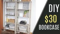 DIY - $30 DIY Industrial Bookcase