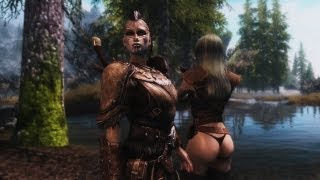 Repeat youtube video SKYRIM - Sexy Followers 3 ( Unique Female Followers )