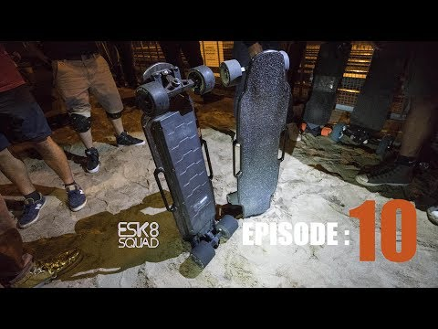 The NYC Electric Skateboard - Episode 10 - Skating in Montreal & The Raptor 2