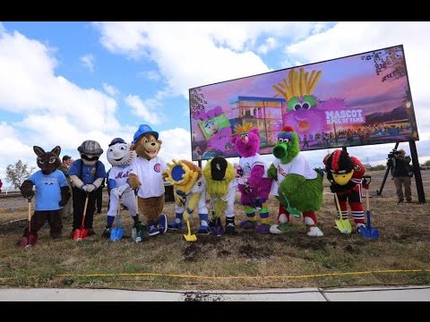 Mascot Hall of Fame Groundbreaking | October 21, 2016