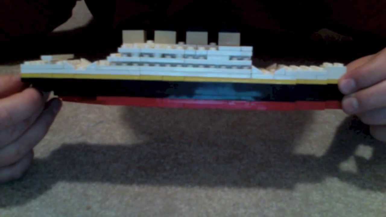 Building Titanic Out Of Legos