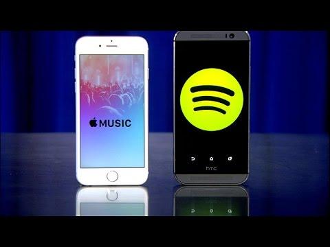 Apple Music contra Spotify: ¿cuál es el mejor servicio? [video]