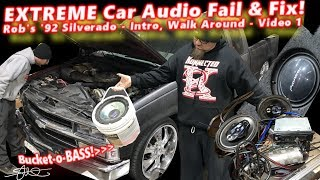 Extreme Car Audio FAIL & Fix -