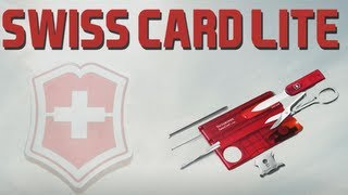 VICTORINOX SWISSCARD LITE REVIEW (All subtitles)
