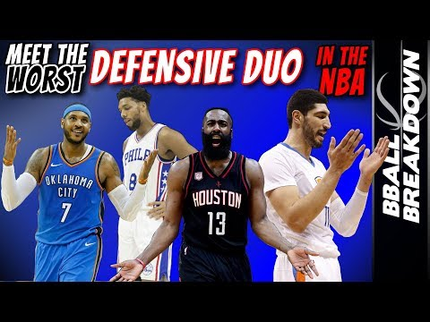 Meet The Worst Defensive Duo In The NBA