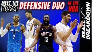 Meet The Worst Defensive Duo In The NBA