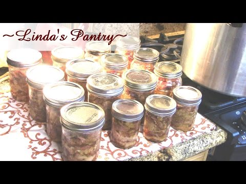 ~Home Canning Bacon With Linda's Pantry~