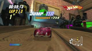 [Xbox 360] Hot Wheels: Beat That! - Inferno: Attic Tournament - Speed Bump