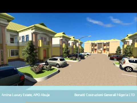 Amina Luxury Estate, APO Abuja - Arch. Samuele Rubagotti