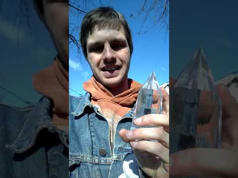 144 sided pyramid magic. Healing with a vogel crystal