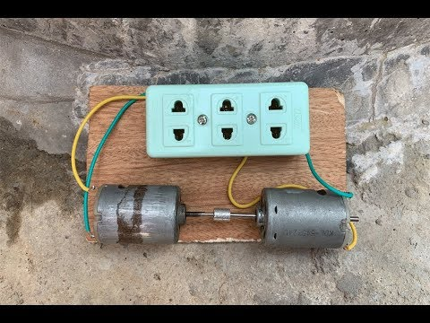 Free Electricity Generator 12V to 220v New Science Experiment 2019