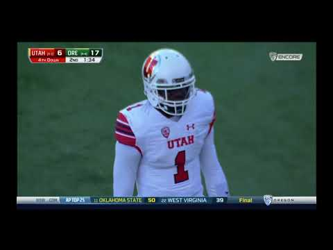 Oregon Ducks vs. Utah Utes- Oregon Highlights 10/28/2017