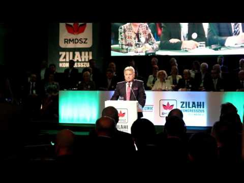 Ionel Ciunt la Congresul UDMR