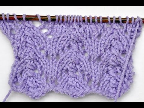 How to Knit * Lace Stitch \