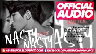 [MP3/DL]Nasty Nasty (네스티네스티) (Kyungri,Kevin,Sojin) - Knock (노크)
