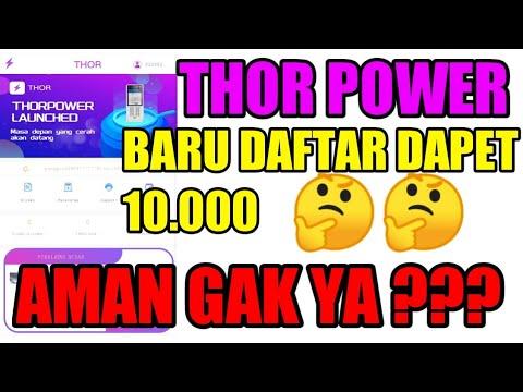 Apakah Apk Thor Power Penghasil Uang Aman? - Aplikasi ...