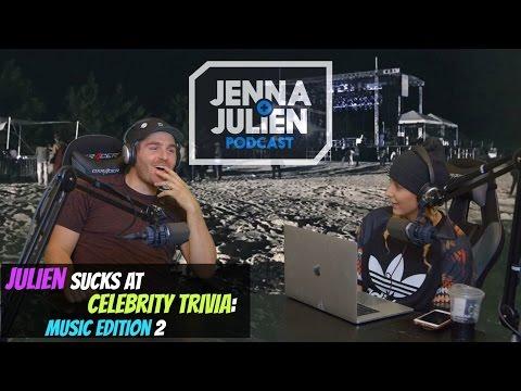 Podcast #139 - Julien Sucks At Celebrity Trivia: Music Edition 2