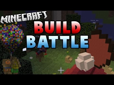 PING PONG TENT BALLOONS | Minecraft Build Battle