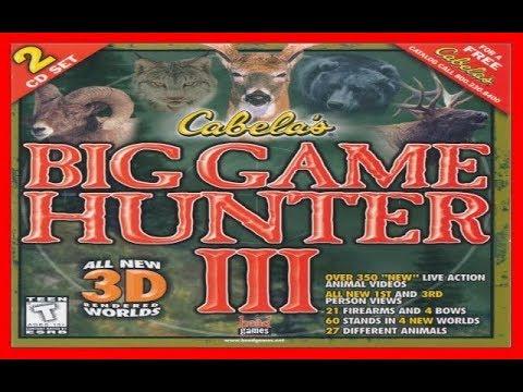 Cabela's Big Game Hunter 3 (1999) PC