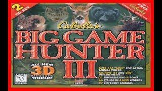 Cabela's Big Game Hunter 3 1999 PC