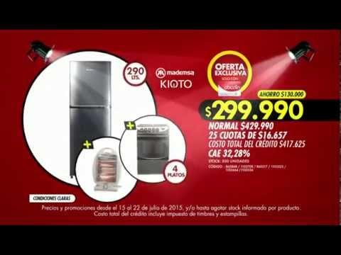 Abcdin espectacular combo refrigerador cocina for Cocina y refrigerador juntos