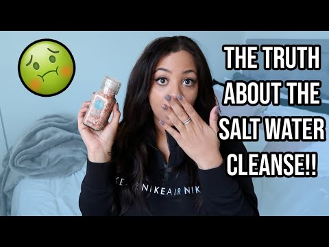 I Tried The Salt Water Flush...LOL HERE'S THE REAL TEA SIS!