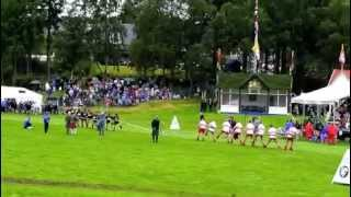 Braemar 2012 - Inter-Services Tug of War Championship.
