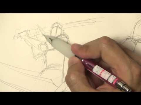 Как нарисовать рыцаря на коне карандашом