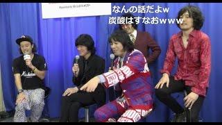 9月18日放送 ニコ生MCはエレキコミックのやついいちろう.