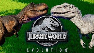 Индоминус против модифицированного Тираннозавра. КТО КОГО? Jurassic World EVOLUTION