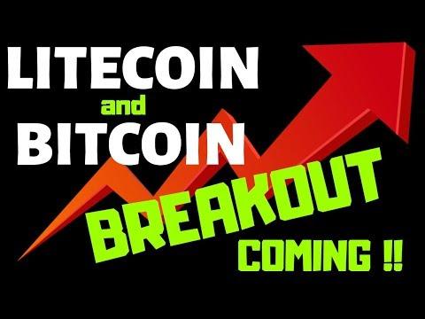 LITECOIN and BITCOIN BREAKOUT COMING!!, litecoin bitcoin price prediction,ltc btc news
