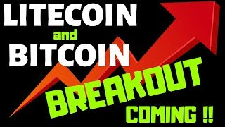 LITECOIN and BITCOIN BREAKOUT COMING!!, litecoin bitcoin price prediction,ltc btc news