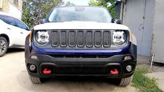 Jeep Renegade. Сборка всего в кучу. ФИГНИШ.