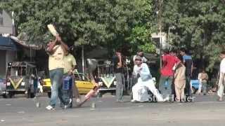 Street Cricket In Karachi - Pakistan
