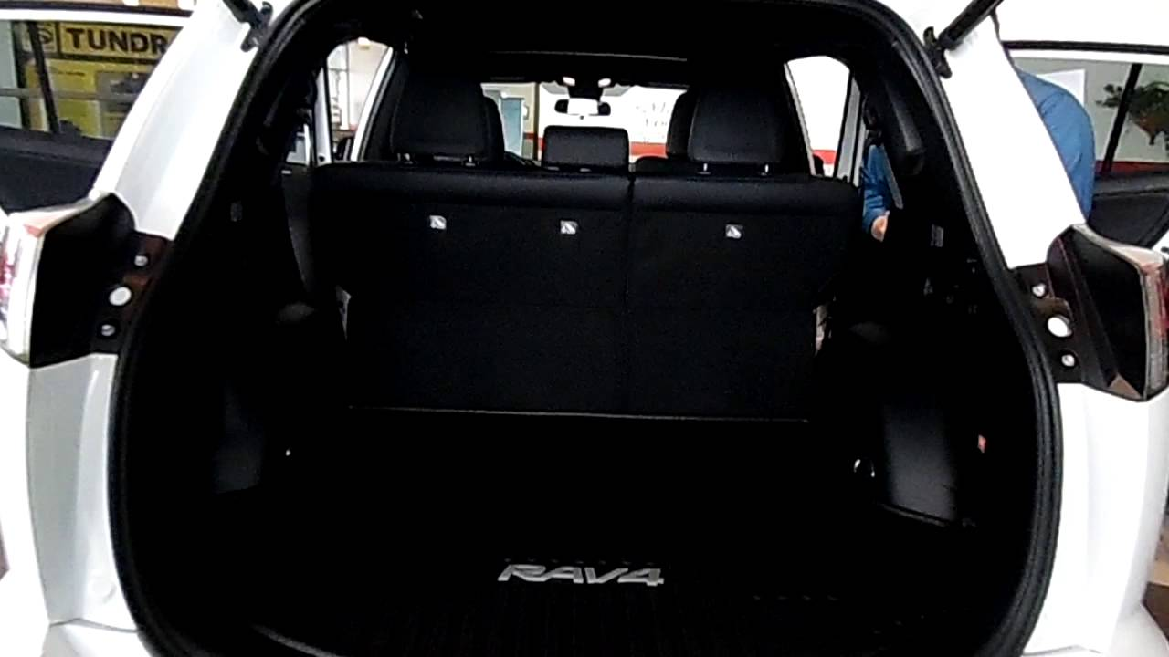 2016 rav4 cargo space stoltz toyota scion of dubois. Black Bedroom Furniture Sets. Home Design Ideas
