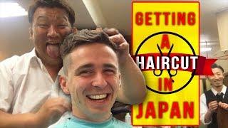 Getting a Haircut in Japan