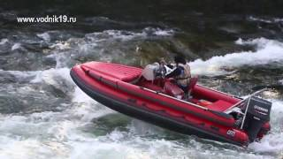 РВЕТ ПОРОГ! Фрегат 480 + Yamaha 90 водомет тюнинг лодок пвх
