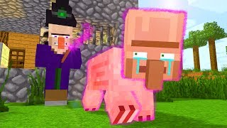 Villager & Witch Life / Dr. Fusion Life - Craftronix Minecraft Animation