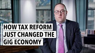 Jonathan Medow How Tax Reform Just Changed The Gig Economy