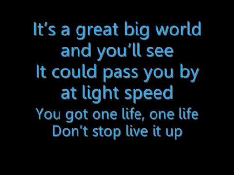One Life - Hedley With LYRICS