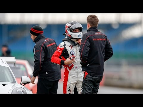 Dino Zamparelli excited for first taste of Porsche Carrera Cup GB