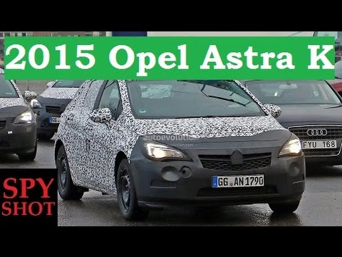 2015 opel astra k spy shot youtube. Black Bedroom Furniture Sets. Home Design Ideas