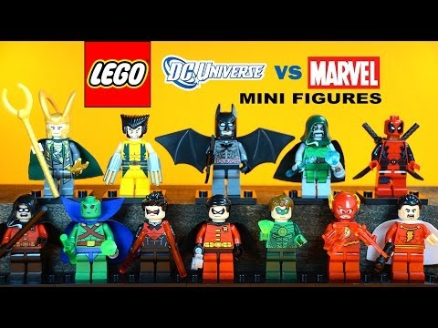 LEGO Superman Man of Steel KnockOff Minifigures (Bootleg) - YouTube