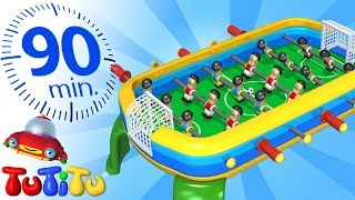 TuTiTu Specials | Foosball and Other Popular Toys for Children | 90 Minutes!