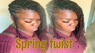 How to style spring twist