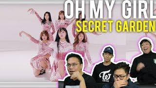 "Finding OH MY GIRL at a ""SECRET GARDEN"" (MV Reaction) #roadto100k"
