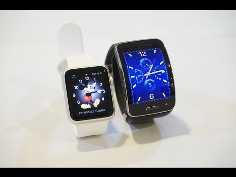 Apple Watch Sport vs Samsung Gear S