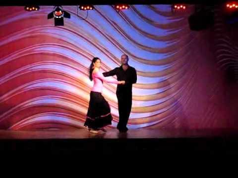 Ludek & Pavla - tango and zouk show at Danube Salsa Connection festival