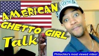 American Ghetto Girl Talk